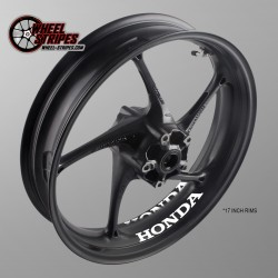 HONDA interior rim stickers